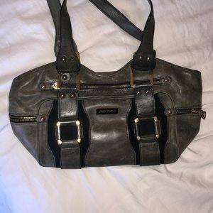 Designer Jimmy Choo vintage green handbag